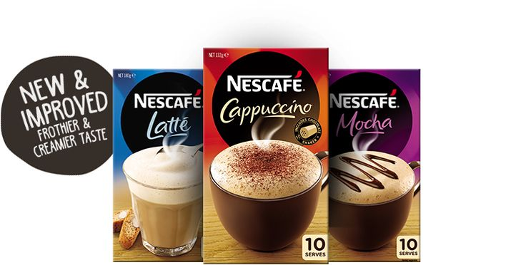 Nescafe coffee sample