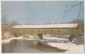 Bangor, Maine's old covered bridge