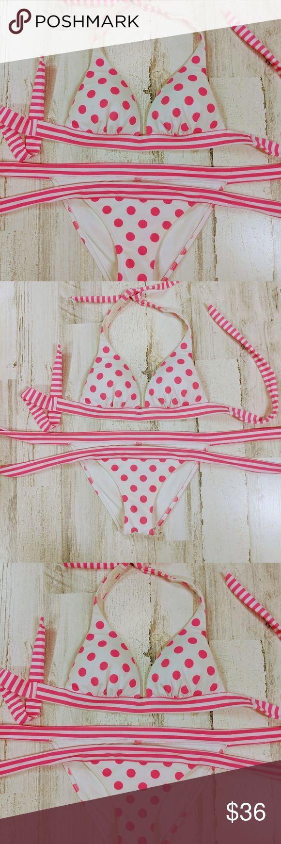 Victoria secret pink string bikini swimsuit Victoria secret pink sting bikini ex…