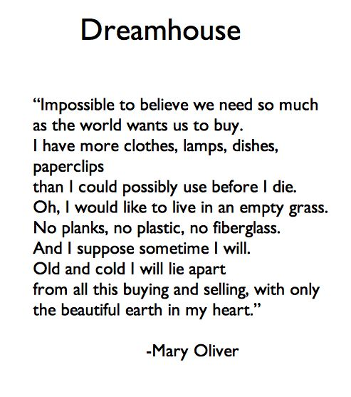 Mary Oliver <3