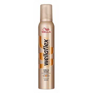 Wellaflex Şekillendirici Saç Köpüğü Kıvırcık Dalgalı Saçlar 200ml   #bakım #alışveriş #indirim #trendylodi    #saçbakımı #bayan