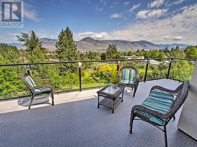 Great patio with a stunning view.