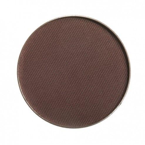 Makeup Geek Eyeshadow Pan - Americano. Matte cool deep brown. Darkening, darkest. $6.
