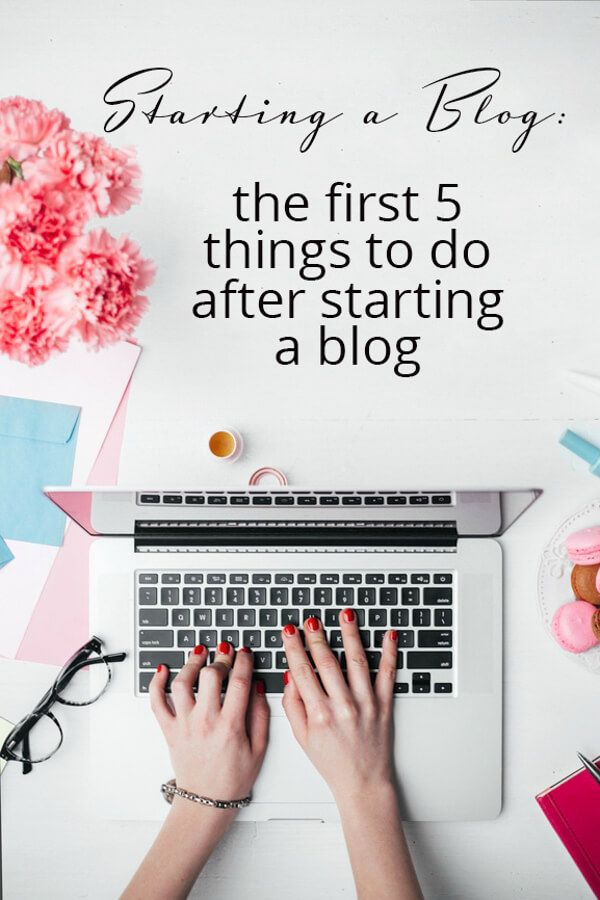 Starting a blog: the first 5 things to do after starting a blog! @spoonfulflavor : Featured Post on Turn it up Tuesdays