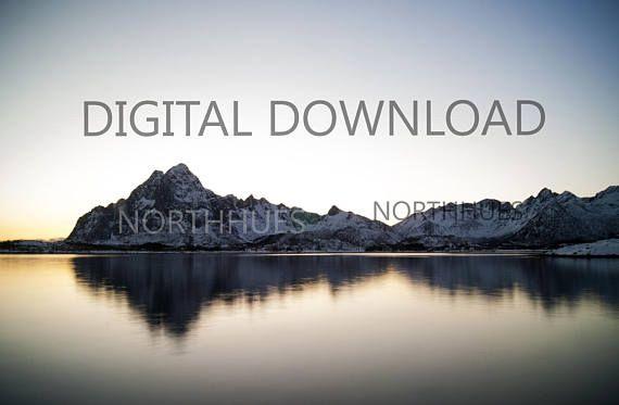 Vågakallen. Mountain Photo  Digital download
