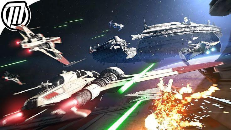 Star Wars Battlefront 2: Starfigher Dogfights - Gameplay Live Stream Star Wars Collection