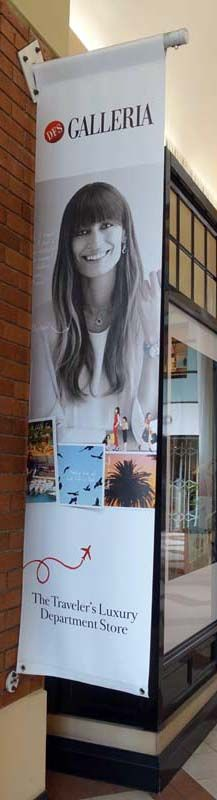 Retail PVC banner