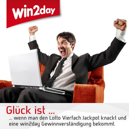 Lotto Vierfach Jackpot - bei win2day.at