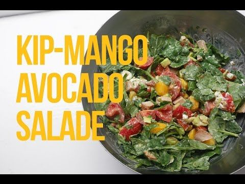 Recept: kip-mango-avocado salade