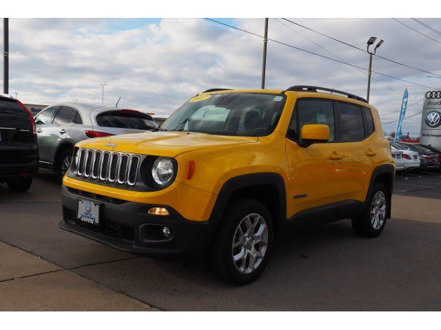 Used 2017 Jeep Renegade 4wd Latitude Fall River Ma 02721