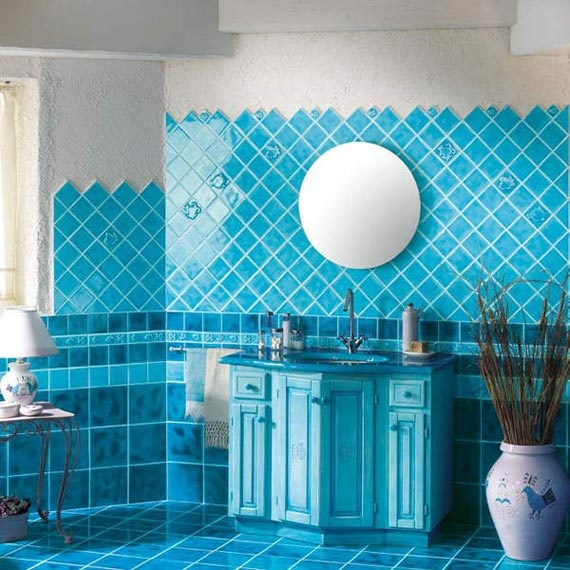 Cerasarda blue    bathroom  tile  design  concept  italian. 17  images about TILE Ideas   RB  39 s Deco Bath on Pinterest   Art