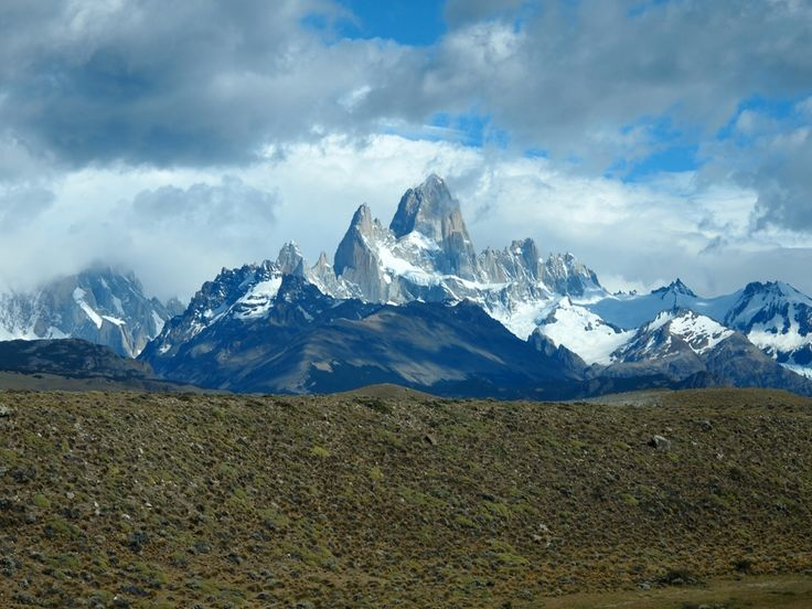 Massive Mountains in beautiful Patagonia, #FitzRoy at #ElChaltén visited on my Round the World Trip #Weltreise2014