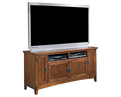 Cross Island Large TV Stand decor example