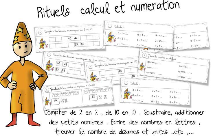 Rituels maths ce1 math matiques for Calculer le nombre de parpaing
