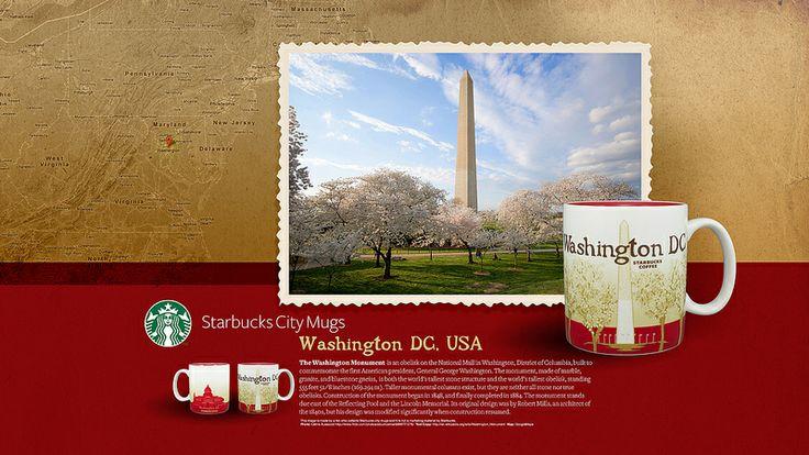 Starbucks City Mug Washington DC Desktop Wallpaper