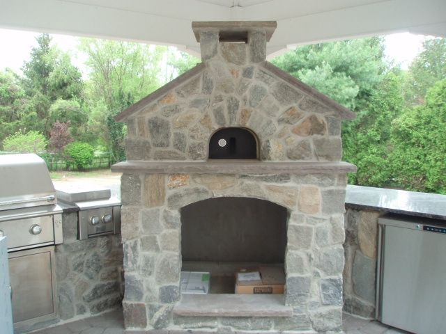 Prefab Pizza Oven Fireplace Design And Installation Services We Offer Outdoor Pinterest