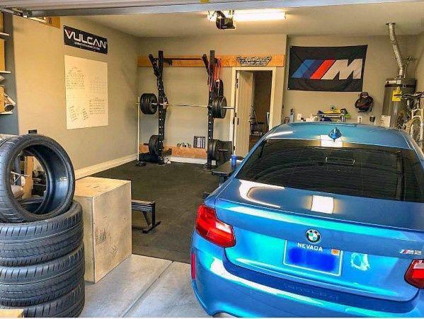 Top 75 Best Garage Gym Ideas Home Fitness Center Designs With Images Home Gym Garage Home Gym Design Crossfit Garage Gym