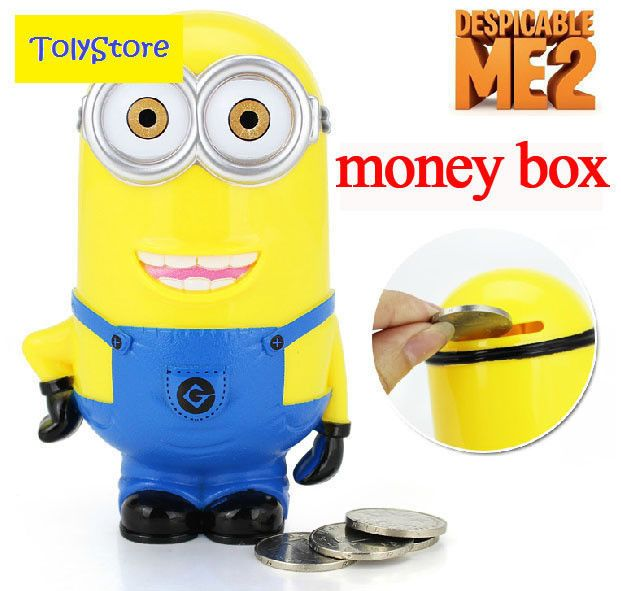 Minion toy Despicable Me 2 Stuart Thinkway lot figure Dave figures gift stuffed #lomiki