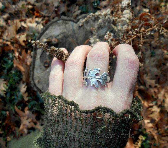 Have you ever picked a beautiful leaf and wrapped it around your finger as a ring? This elegantly intricate leaf ring is hand formed from real leaves that I have chosen from my garden. The natural lacy beauty of this leaf is captured in silver, and each one is unique just like the leaves they are made from. Wear this beautiful woodland leaf ring to show your love of nature! This made-to-order ring is lovingly hand formed just for you, which makes each ring entirely unique and one of a kind…
