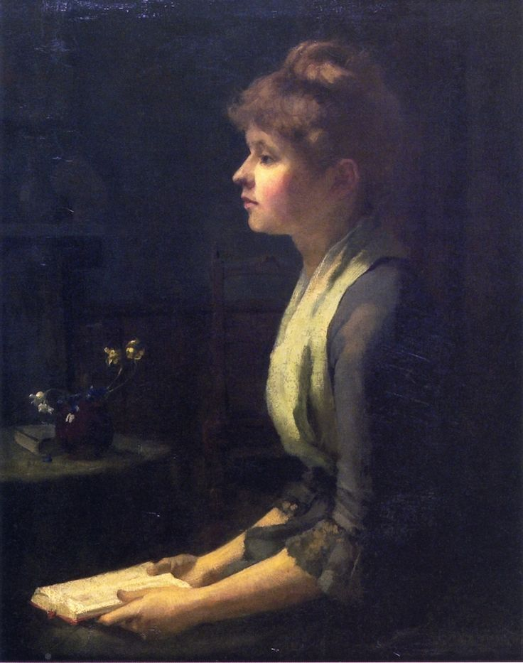 Study of a Young French Woman (Sarah Cecilia Harrison)