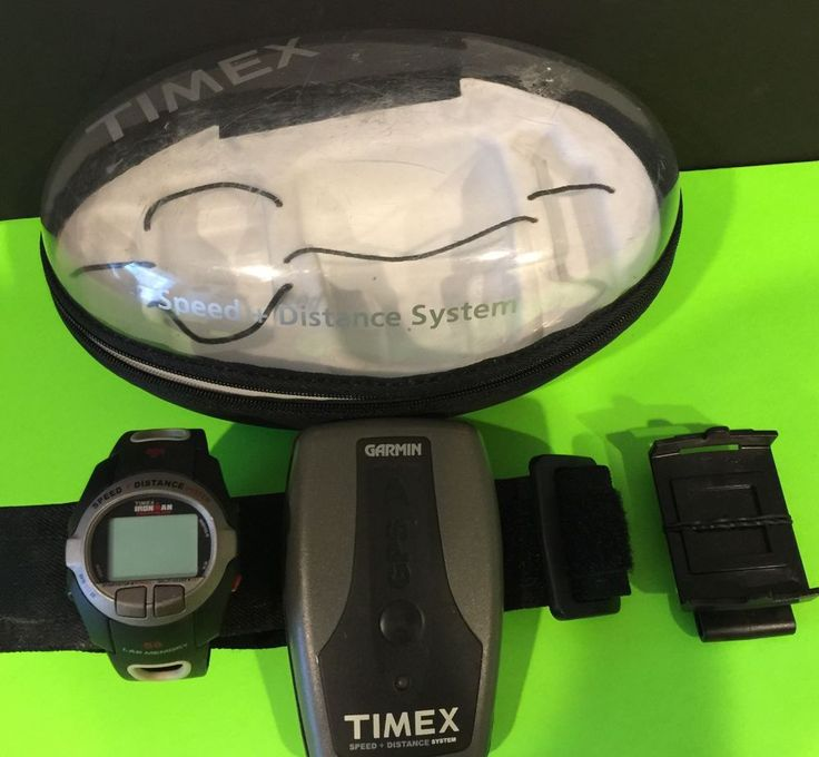 Timex Ironman Triathlon Watch Garmin GPS Speed Distance System | eBay