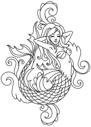 25+ bästa Beautiful mermaid idéerna på Pinterest