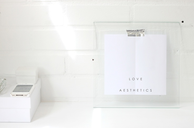 2012 Love Aesthetics Logo :)