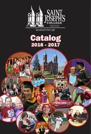 Catalog from Saint Joseph's College, Rensselaer IN