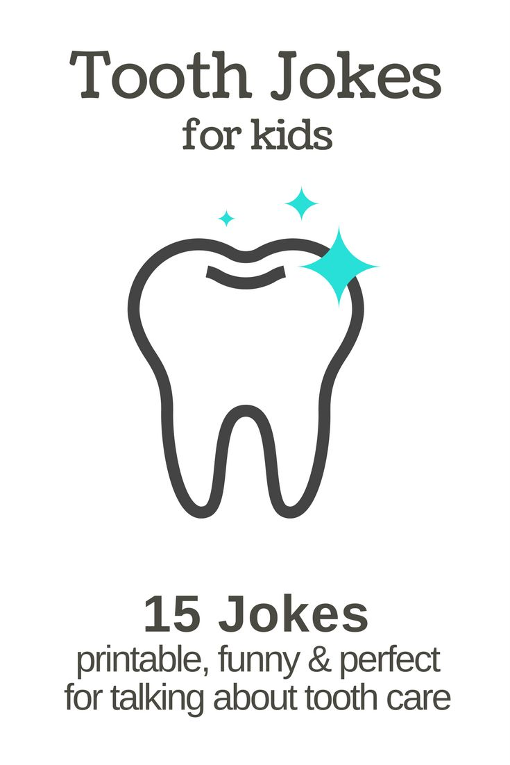 15 dentist and tooth jokes for kids. Print them out and use them in the lunch box or as a fun way to kick off tooth brushing time.