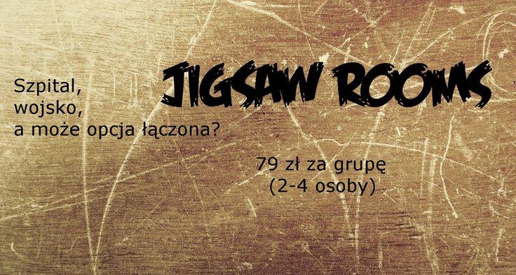 Czy myślicie o tym co my? :)  #jigsawrooms Jigsaw Rooms Katowice www.jigsawrooms.pl                Wyjdziesz?