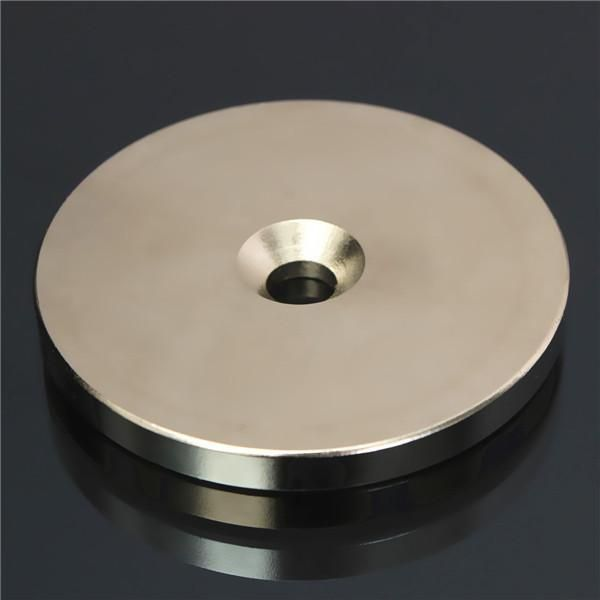 N52 50mmx5mm Countersunk Ring Magnet Disc Hole 6mm Rare Earth Neodymium Magnet
