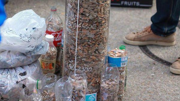 Pollution 25.000 mégots ramassés autour du bassin de la Villette à Paris - France Bleu