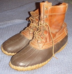 vintage Classic LL Bean Boots  Maine