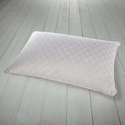 Buy John Lewis Classic Duck Feather and Down Standard Pillow, Soft/Medium Online at johnlewis.com