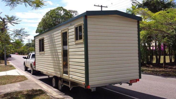 Hire Relocatable Granny Flat Mobile Home Studio Caravan