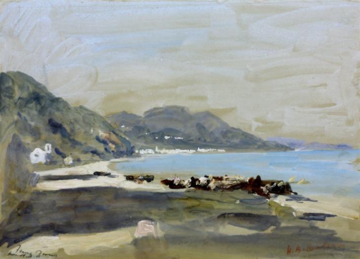 Artwork page for 'The Bay', Hercules Brabazon Brabazon