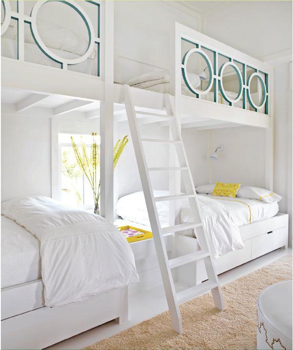 House Beautiful Sally Markham bunks via @quintessenceblg