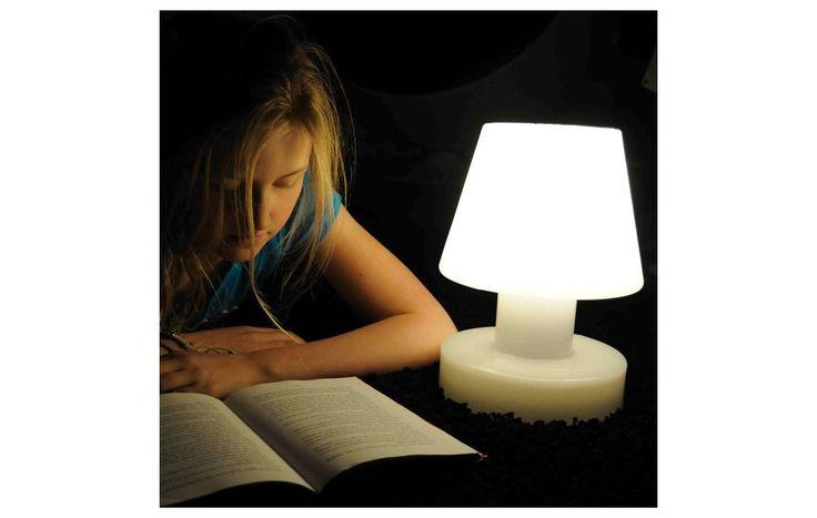 BLOOM! Portable Solar Lamp Wit 13 x 20cm