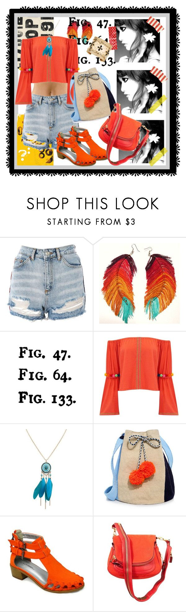 """""""Havin' Fun !"""" by kareng-357 ❤ liked on Polyvore featuring Topshop, Tim Holtz, Pitusa, Sophie Anderson, C Label, Tom Ford and Aurélie Bidermann"""