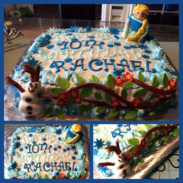 Frozen Team Cake
