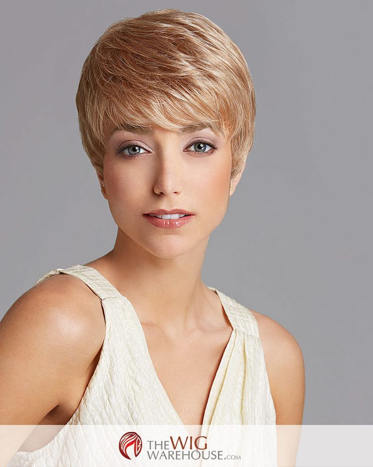 Light and delightful, the Pixie Perfect wig by Gabor is a charming take on the pixie cut. The saucy wispy bangs fall softly across the brow, offering a charming frame for your face. All-over layering
