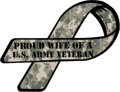 Proud Wife of a U.S. Army Veteran...May is Military Appreciation month!  Tell a Veteran or a current military member, Thank You!