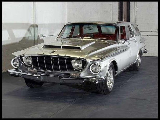 1962 Dodge Dart Station Wagon 440 Ci 1 Of 1000 Produced