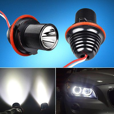 2× 10w cree led #angel eye halo #light bulb bmw e39 e60 #5-series m5 e53 e63 e65,  View more on the LINK: 	http://www.zeppy.io/product/gb/2/131212442719/