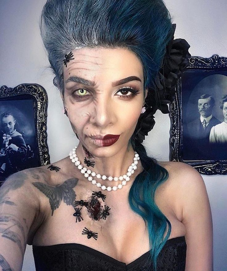 """The Horror Gallery (@thehorrorgallery) on Instagram: """"Female Dorian Gray special effects makeup by @lilmoonchildd"""""""
