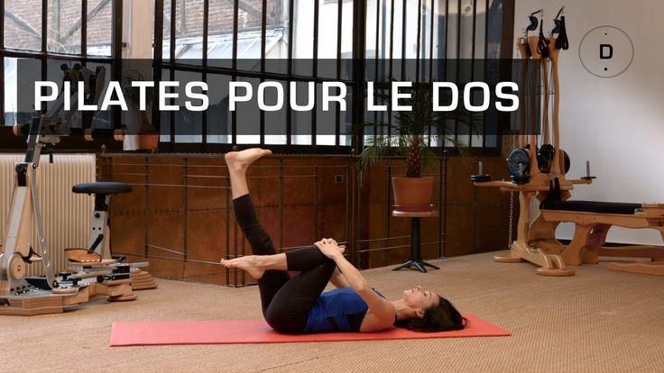 Véréna Tremel, professeur de Pilates, vous propose une séance de Pilates pour prévenir le mal de dos. Avec ces postures vous étirez et renforcez tous les mus...