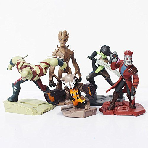 Guardians of the Galaxy Dimensions 5-10 cm Groot Rocket Raccoon Drax The Destroyer Star Lord Without @ niftywarehouse.com #NiftyWarehouse #GuardiansOfTheGalaxy #Marvel #Movies #ComicBooks #Comics #MarvelMovies