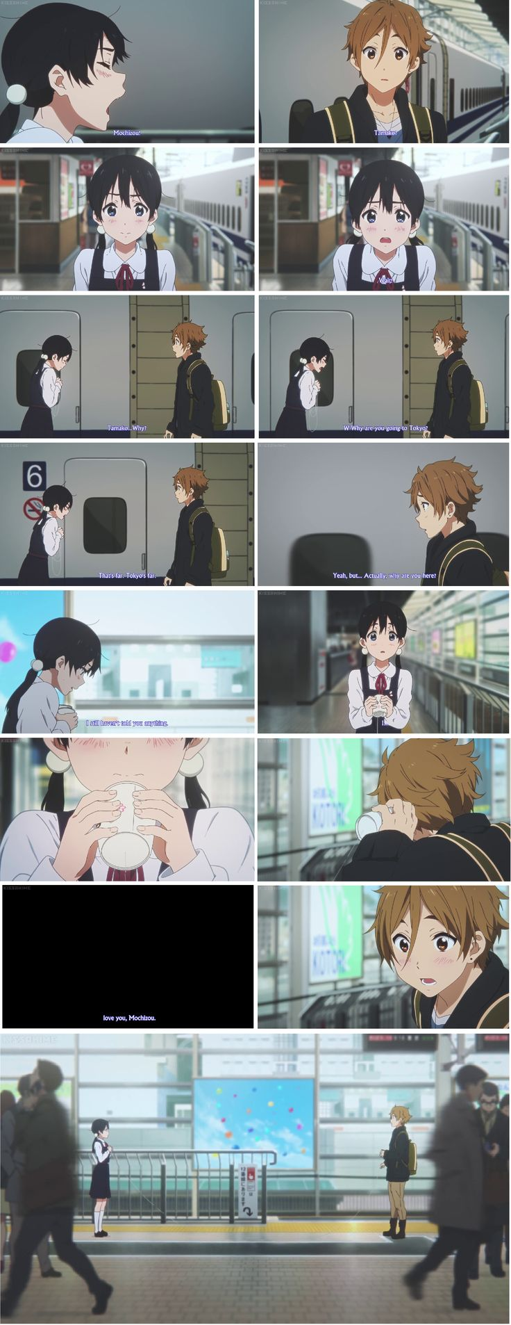 Tamako love story - series was okay but I loved the movie - perfect ending