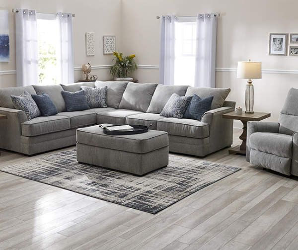 Broyhill Naples Living Room Sectional Living Room Sectional