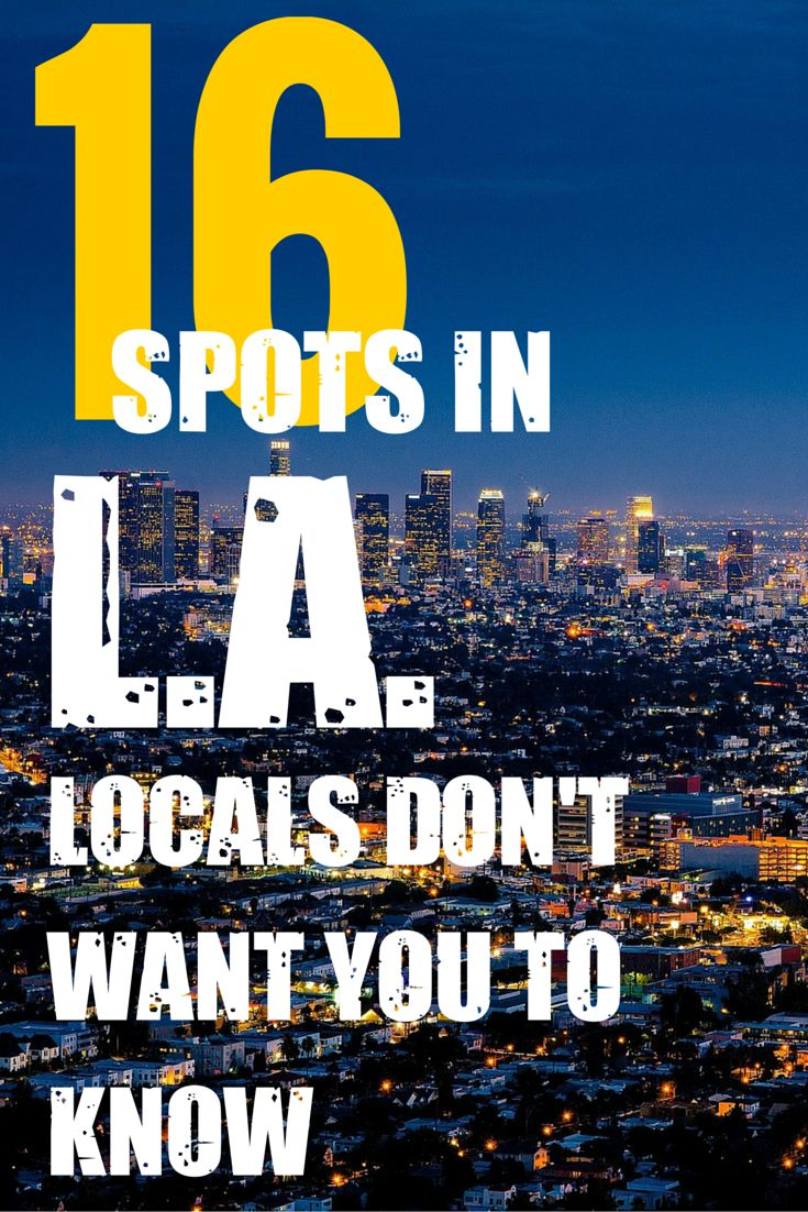 Are you planning on making Los Angeles, California? Discover some great activities, restaurants and places to visit that are off the beaten path. There's so much more to L.A. than just Venice Beach and Hollywood. Discover your next travel destination at MatadorNetwork.com